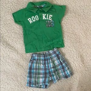Short outfit carters
